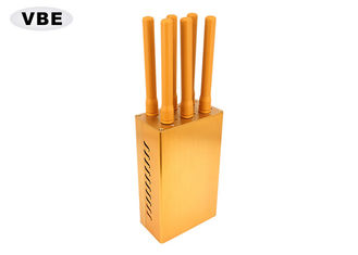 China 6 Bands 6W Uhf Vhf Jammer Sustained Shielding GPS Signal Six Output Ports supplier