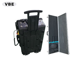 China 8 Bands Portable Convoy Bomb Jammers 1000W Power AC 220V For CDMA / GSM / DCS supplier