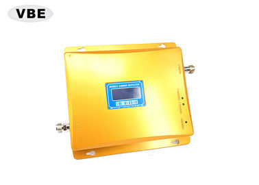 China Golden Color Mobile Signal Booster 3000 - 5000m² Built Overarea For Basements supplier