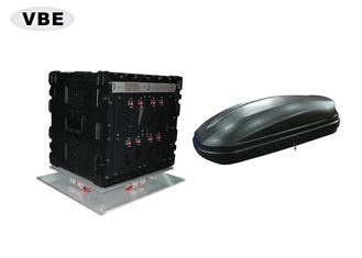China Vehicle Borne Drone Signal Jammer 1800W Power Consumption Anti Detection supplier