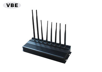 8 Bands  16W 2G 3G 4G 5G WIFI Cellphone Jammer , Wifi Device Blocker For Conference Room, Cell Phone Jammer