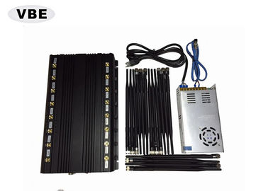 16 Channels High Power Signal Jamming Device Desktop Type With Good Cooling System