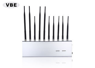 China 2.4G 4G Cell Phone Signal Jammer Adjustable Effective Shielding For Training Centers supplier