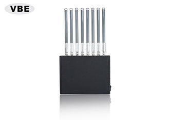 China 40W RF Power Cell Phone Signal Blocker Device Effective Shielding From 1 To 50 Meters supplier
