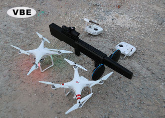 China Gun Type Drone Frequency Signal Jammer , Drone Jammer Kit Anti Tracking Featuring supplier