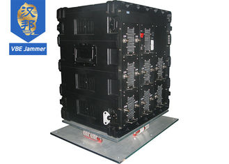 China 20 - 3000MHz Mobile Phone Signal Blocker , Mobile Jammer Device Low Voltage Protection supplier
