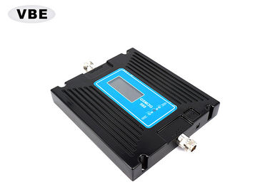 China OEM Black Cell Phone Signal Repeater GSM / W-CDMA 1000M² Large Coverage Area distributor